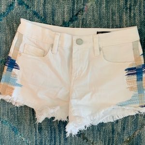 White boho shorts Blank NYC from Bloomingdale's